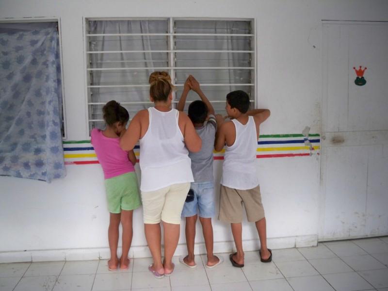 M. mit Kindern