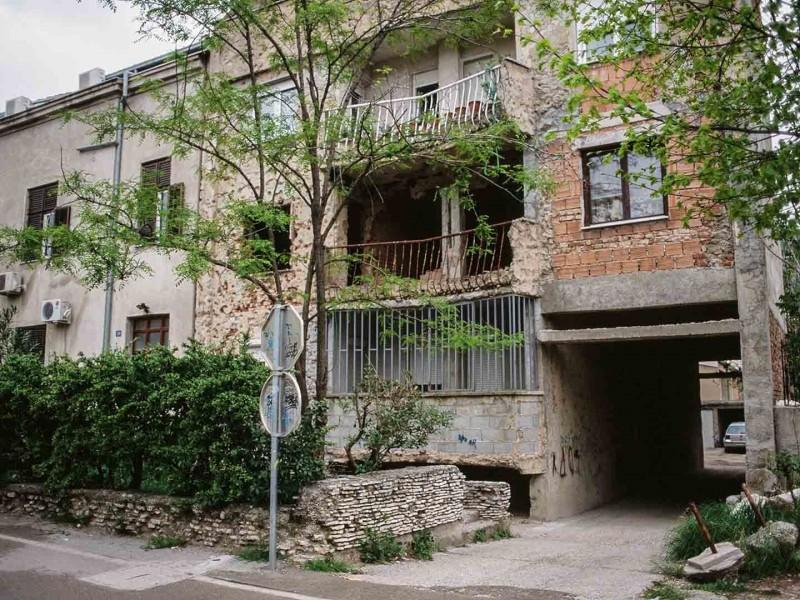 Mostar, Straßenansicht