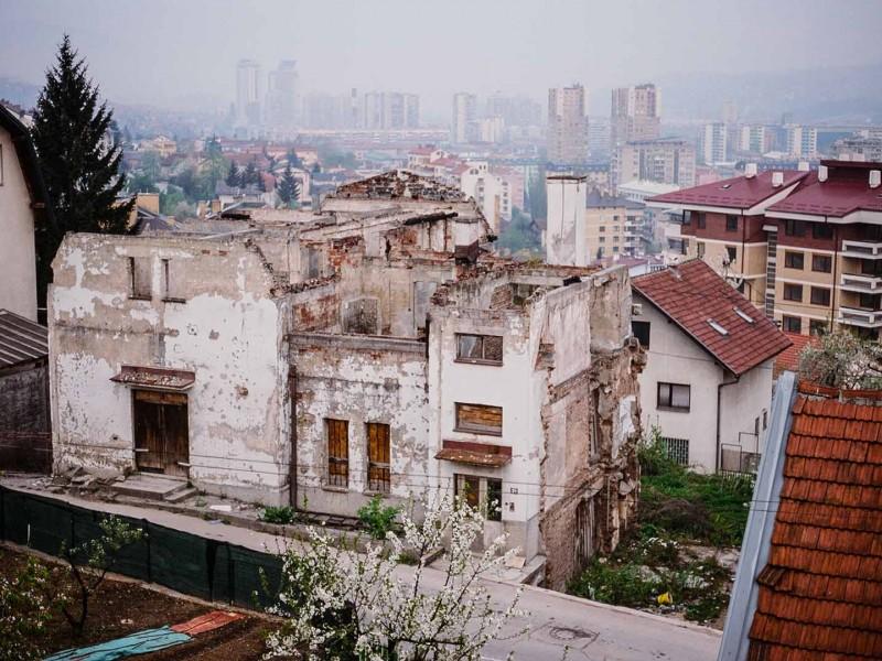 Sarajevo, Blick auf die Stadt
